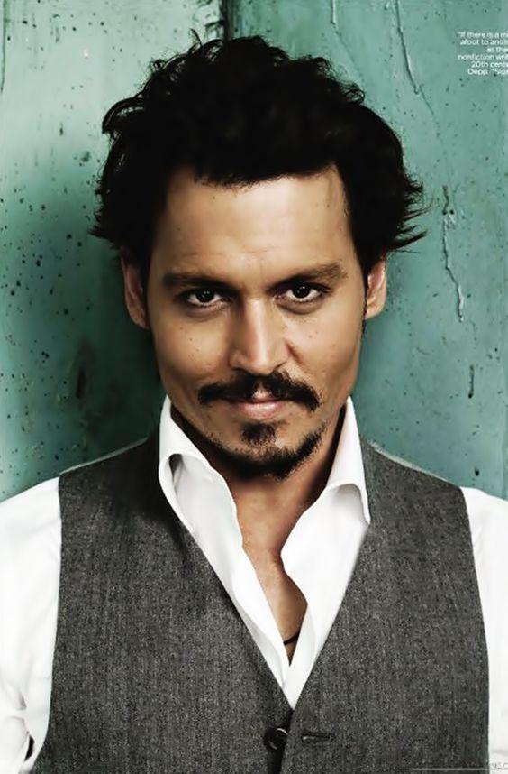 Os homens mais sexys do mundo - Johnny Depp