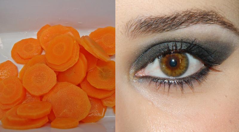 Alimentos Parecidos com os Orgãos que Curam - cenoura e olhos