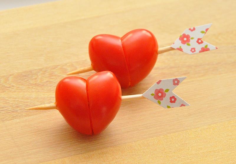 Alimentos Parecidos com os Orgãos que Curam - tomate e coração