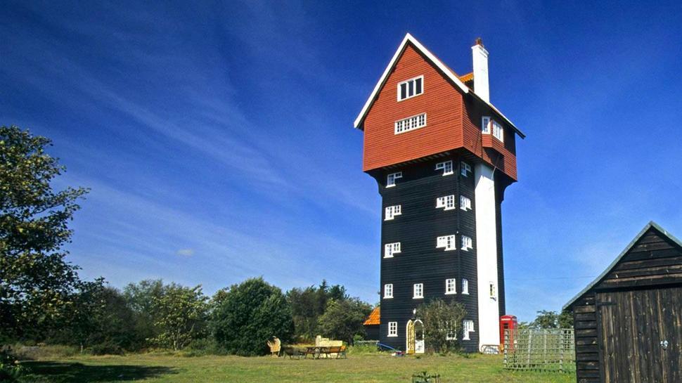 Os prédios mais loucos do Mundo - Casa nas Nuvens - Suffolk Reino Unido