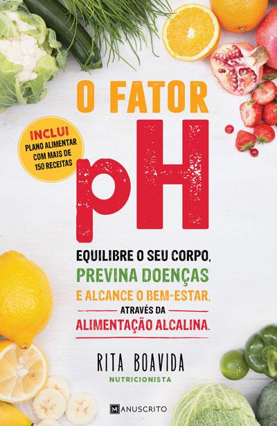 Capa do livro O Factor Ph, de Drª Rita Boavida