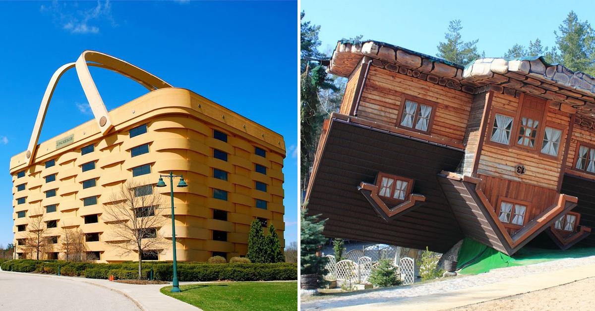 Os prédios mais loucos do Mundo