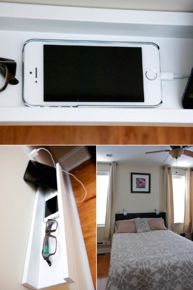 Ideias criativas para arrumações - prateleira para pequenos objectos