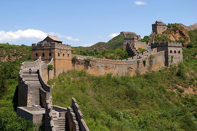 Monumentos mais fotografados do Mundo - Grande muralha da China