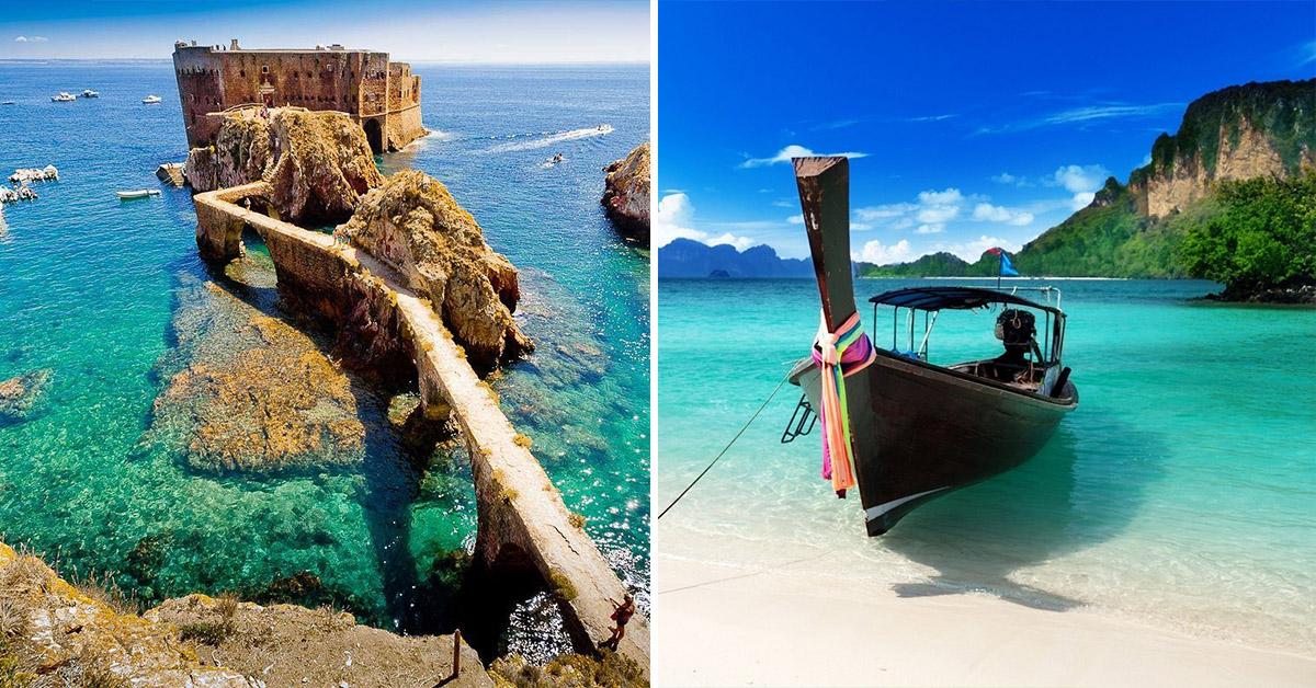 11 praias paradisíacas pelo Mundo