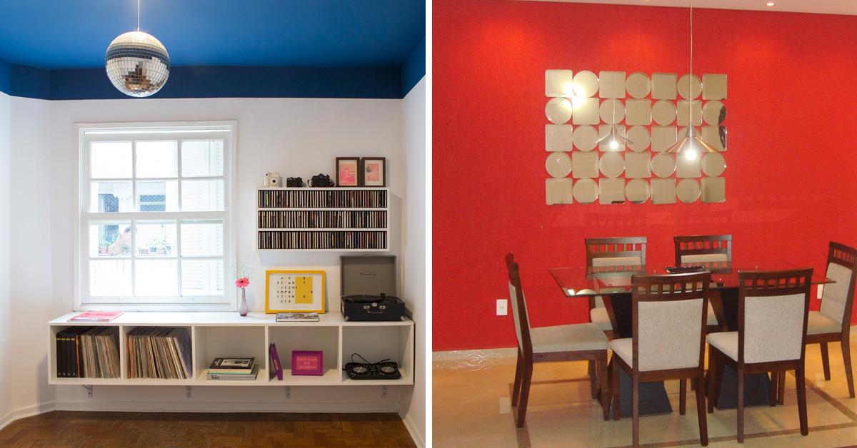 8 truques de decoração para a sua casa parecer muito maior