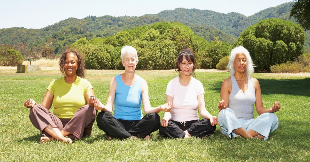 Yoga em qualquer idade