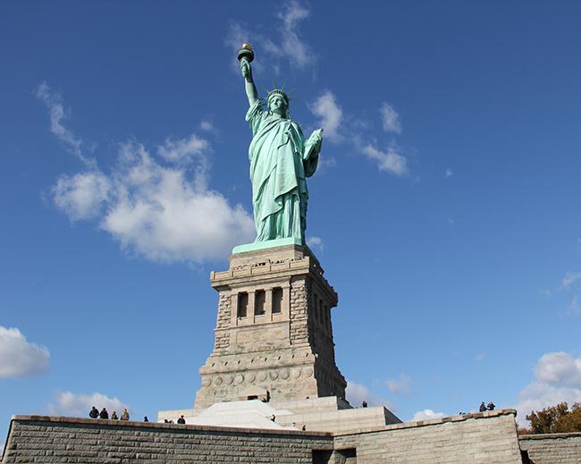 Monumentos mais fotografados do Mundo - Estátua da Liberdade, Nova Iorque, EUA