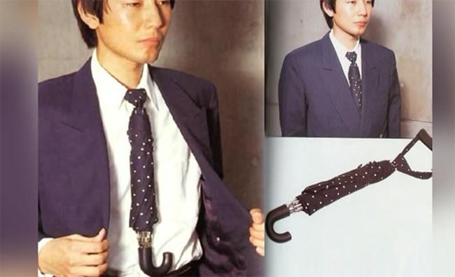 As invenções mais loucas do mundo - 2 em 1, gravata e chapéu de chuva
