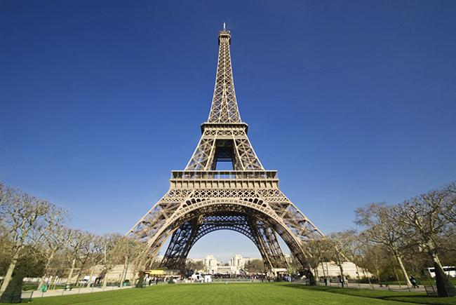 Monumentos mais fotografados do Mundo - Torre Eiffel, Paris, França