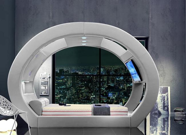 Camas de sonho - Cama futurista