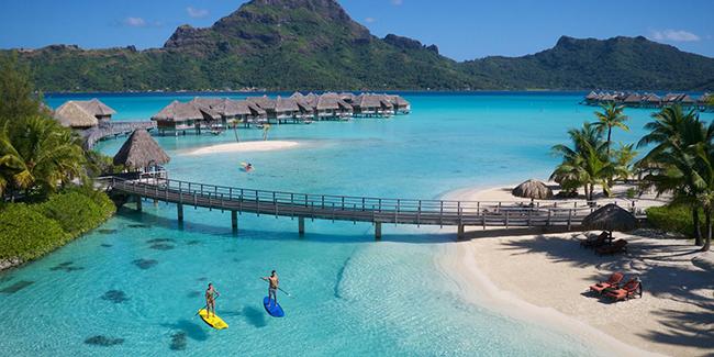 Praias paradisíacas pelo Mundo - Bora Bora, Polinésia Francesa