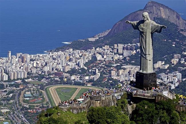 Monumentos mais fotografados do Mundo - Cristo Redentor, Rio de Janeiro, Brasil