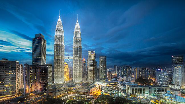 Monumentos mais fotografados do Mundo - Torres Petronas, Kuala Lumpur, Malásia