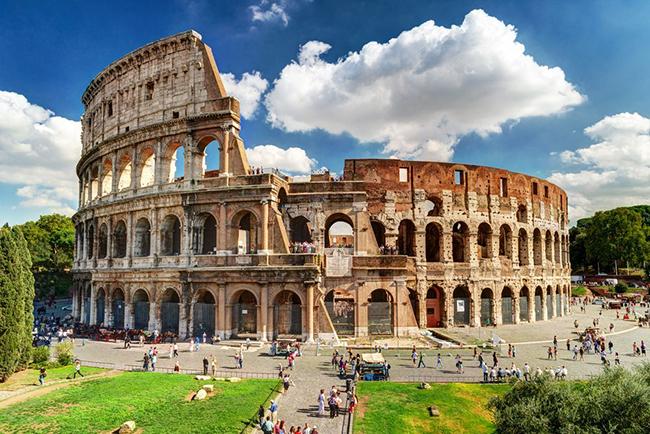 Monumentos mais fotografados do Mundo - Coliseu, Roma, Itália