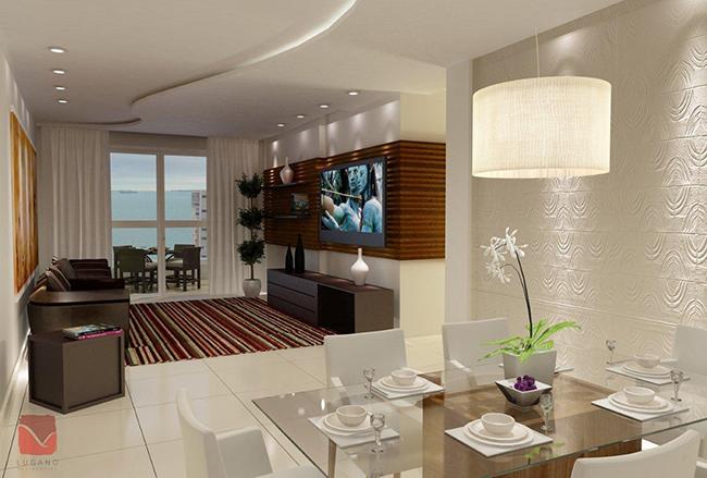 Truques de decoração para a sua casa parecer muito maior - numa sala pequena use vários pontos de luz