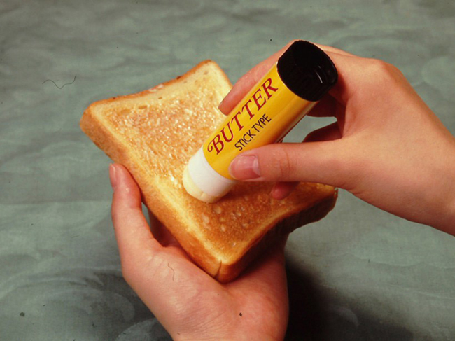 As invenções mais loucas do mundo - manteiga em stick
