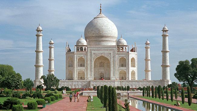 Monumentos mais fotografados do Mundo - Taj Mahal, Agra, Índia