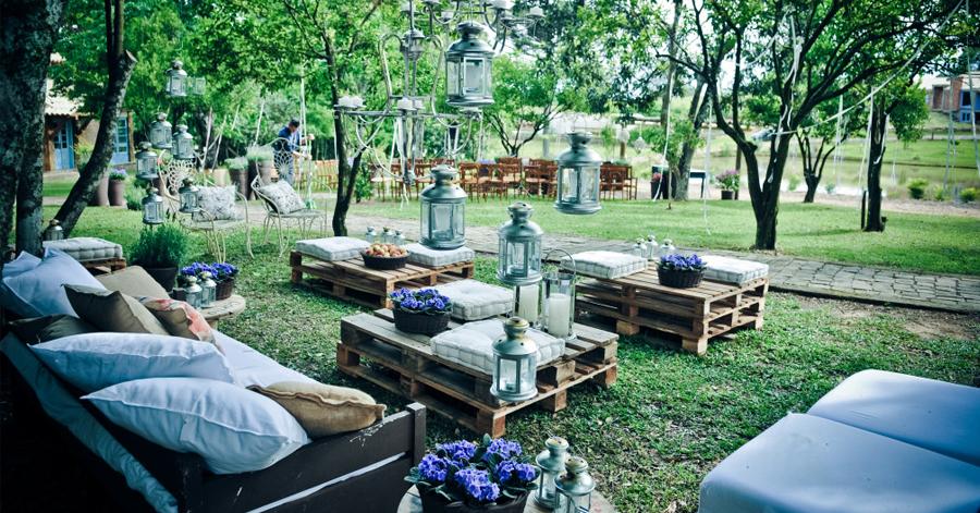 Fa a uma mesa de jardim a partir de paletes bancos de for Esplanada dos jardins 1