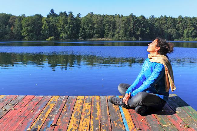 Dicas para se libertar de pensamentos tóxicos - Respira de forma profunda