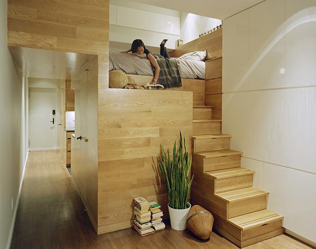 Camas de sonho - Cama com escada