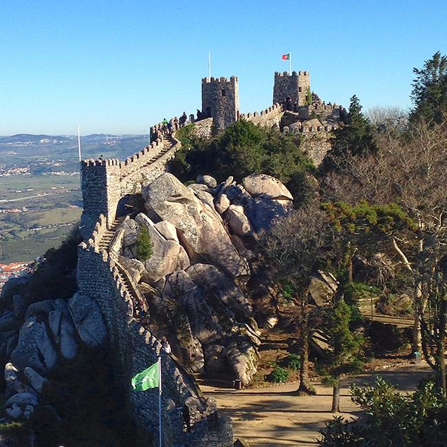 Monumentos que nos enchem de orgulho - Castelo dos Mouros, Sintra