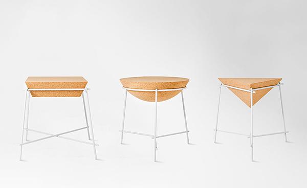Usos surpreendentes da cortiça - mesas de café