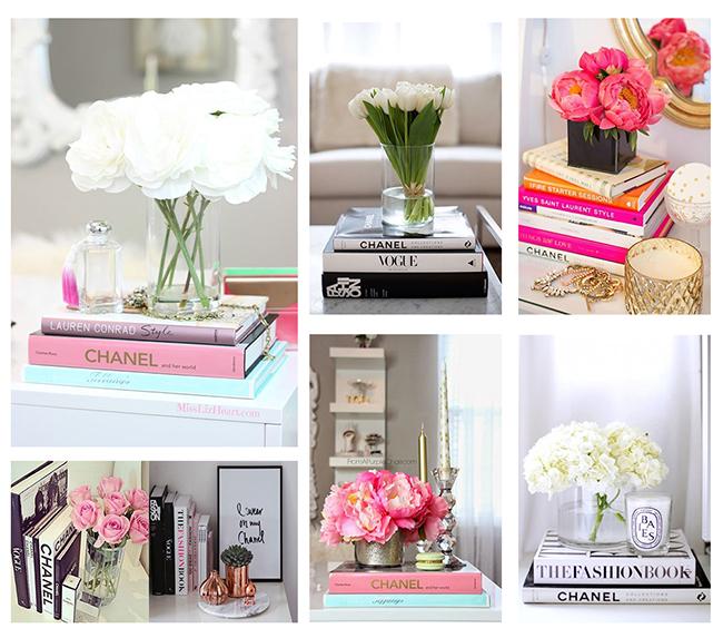 13 ideias fantásticas para organizar os seus livros - bases de flores