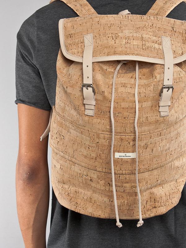 Usos surpreendentes da cortiça - mochila