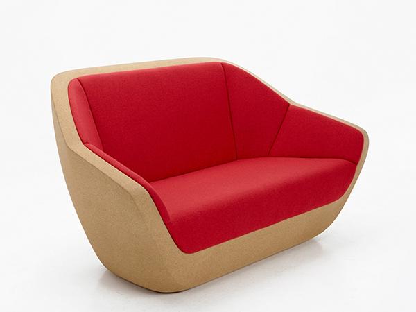 Usos surpreendentes da cortiça - sofá