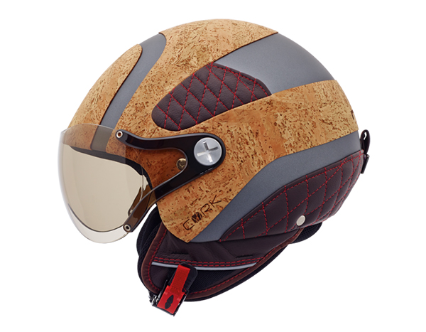 Usos surpreendentes da cortiça - capacete