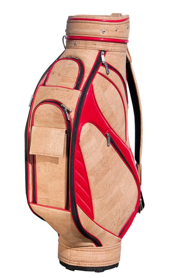 Usos surpreendentes da cortiça - saco de golfe
