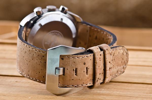 Usos surpreendentes da cortiça - correias de relógios