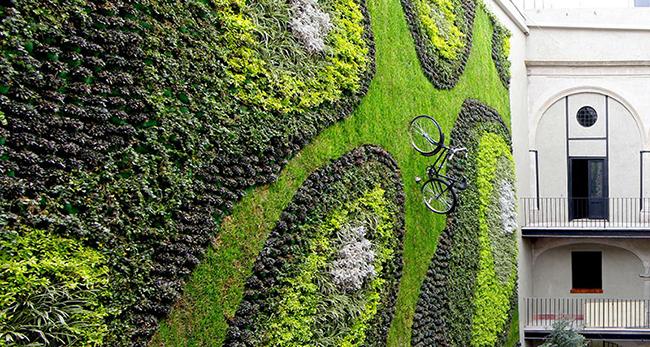 Jardins verticais dignos dos céus - Edifício na cidade do México, México