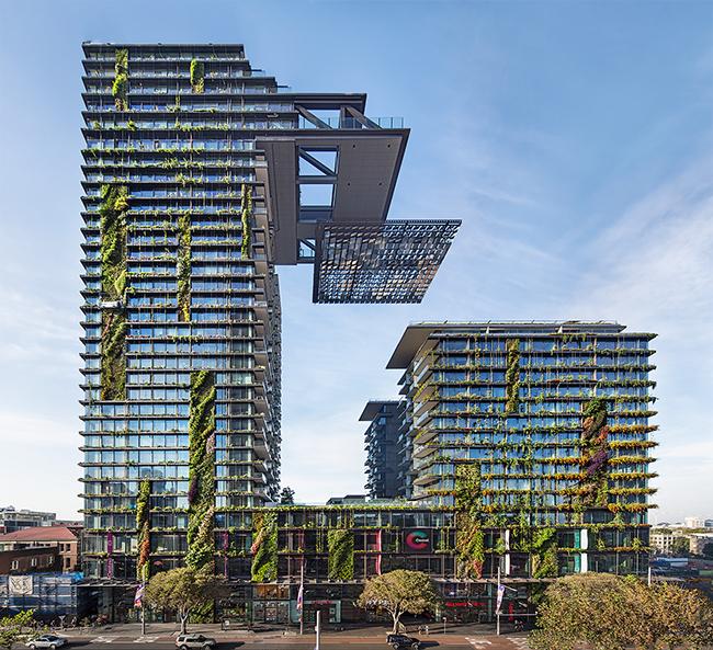 Jardins verticais dignos dos céus - One Central Park, Sydney, Austrália