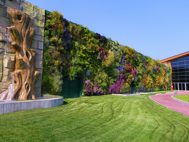 Jardins verticais dignos dos céus - Fiordaliso Shopping Centre, Rozzano, Itália