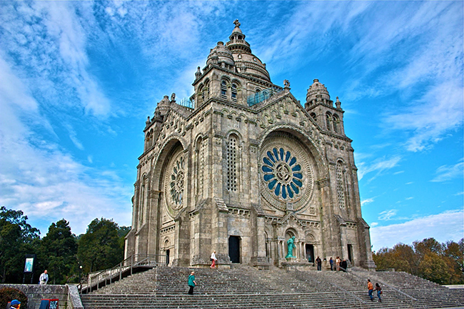 Monumentos que nos enchem de orgulho - Basílica de Santa Luzia, Viana do Castelo
