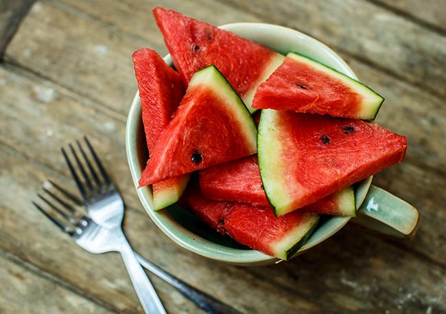 Top 10 frutos menos calóricos por Ágata Roquette - melancia