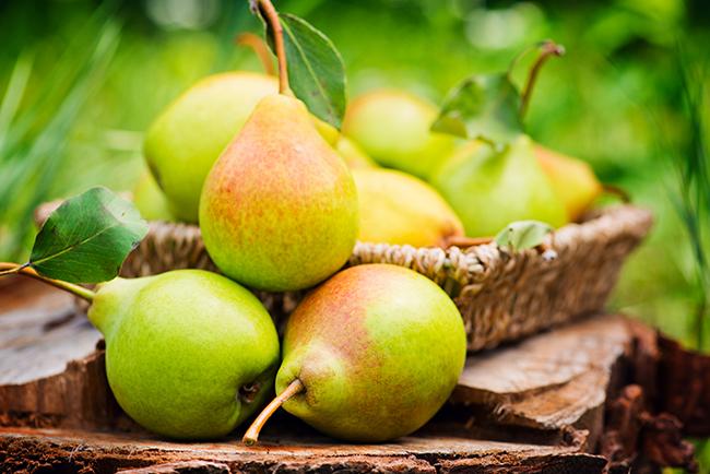 Top 10 frutos menos calóricos - pera