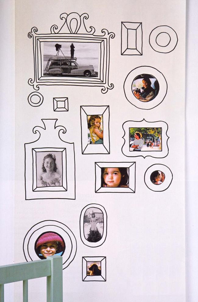 Ideias originais para usar as suas fotos de família