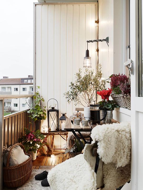 Ideias para varandas de todos os tamanhos  - extensão da sala