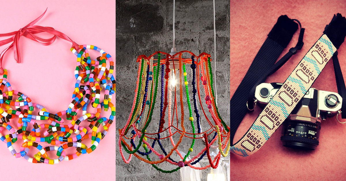 Missangas, 19 ideias fabulosas para miúdos e graúdos