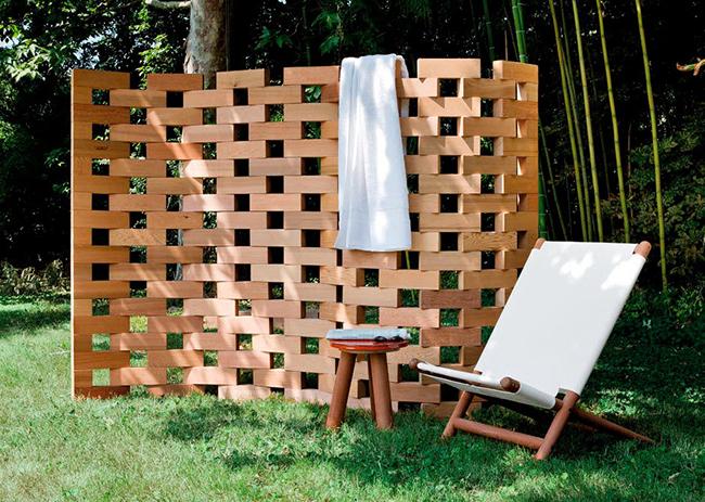 Os biombos e as 1001 maneiras de os usar - biombo de jardim