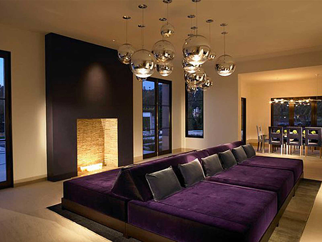 17 sof s de sonho qual o seu preferido like3za - Exquisite pictures of home theater ideas design and decoration ...