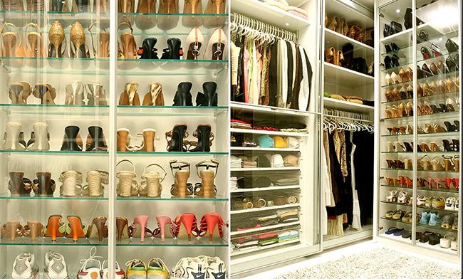 Closets de sonho para todas as carteiras - closet de luxo