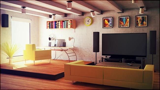 Soluções geniais para estúdios e casas pequenas - defina as zonas importantes