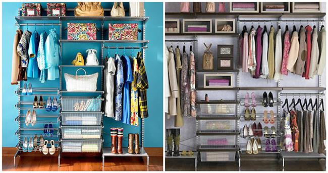 Closets de sonho para todas as carteiras - closet decorativo