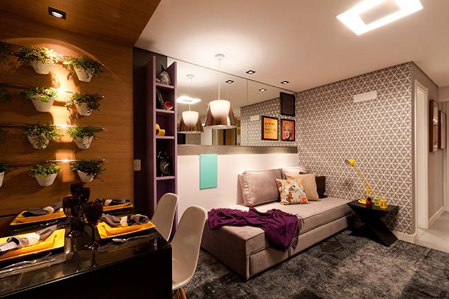 Soluções geniais para estúdios e casas pequenas - móveis retráteis