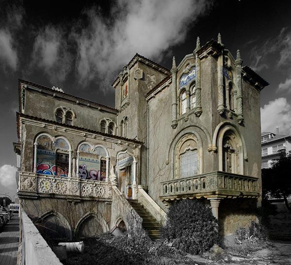 Casa do Relógio, Foz do Douro, Porto - 10 Locais abandonados