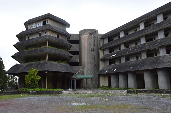 Hotel Monte Palace, S. Miguel, Açores - 10 Locais abandonados